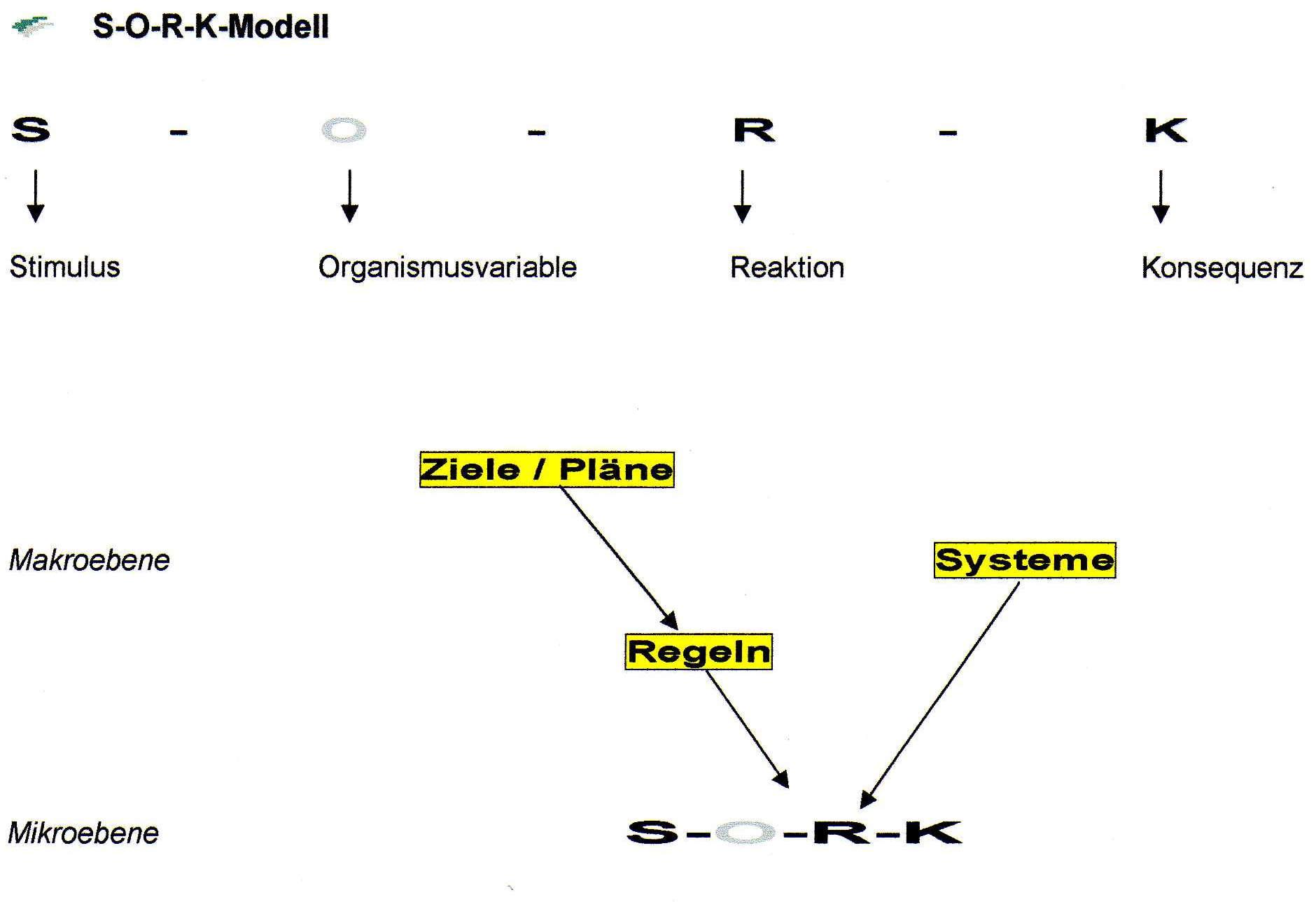 VT - SORK-Modell